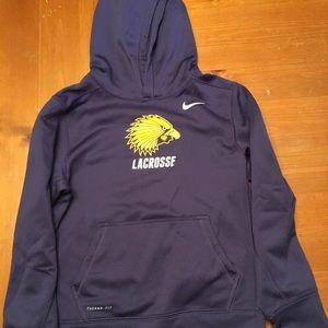 Iroquois lacrosse sweatshirt